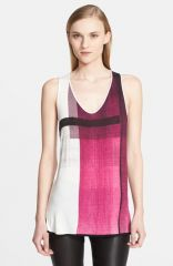 Helmut Lang and39Chromaand39 Print Jersey Tank at Nordstrom