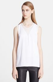 Helmut Lang and39Nexaand39 Mesh Triangle Top at Nordstrom
