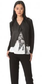 Helmut Lang washed leather jacket at Shopbop at Shopbop