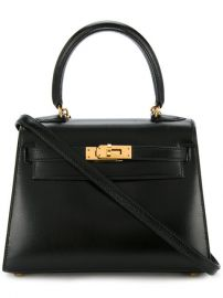 Herm  232 s Vintage Mini Kelly Bag at Farfetch