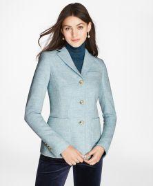 Herringbone Wool Jacket at Brooks Brothers