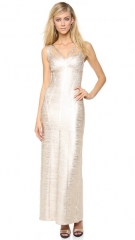 Herve Leger Alenis Gown at Shopbop
