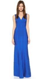 Herve Leger Annabelle Gown at Shopbop