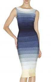 Herve Leger Ardell Ombre Dress at Herve Leger