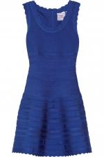 Herve Leger scalloped dress at Net A Porter