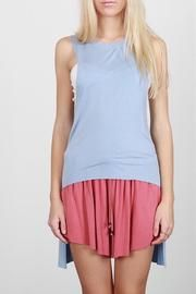 High Low Muscle Tank at Shoptiques
