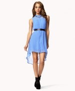 High Low Shirtdress at Forever 21