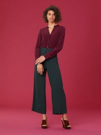 High Waisted Culotte at DvF