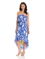High low dress with the same print at Amazon