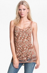 Hinge Crochet Sweater Tank at Nordstrom