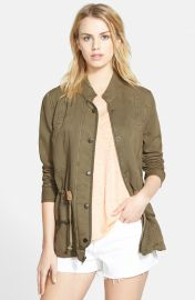 Hinge Drapey Military Jacket at Nordstrom