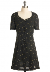 Hit the Right Note Dress at ModCloth