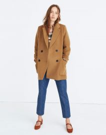 Hollis Double-Breasted Coat at Madewell