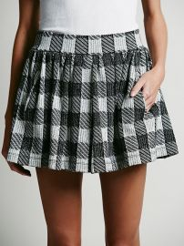 Holly Go Lightly Plaid Skirt at Free People