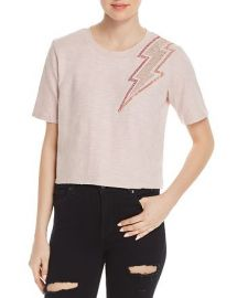 Honey Punch Embellished Lightning Tee at Bloomingdales