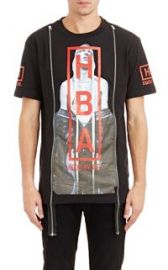 Hood by Air Triptych Double-Zip T-Shirt at Barneys