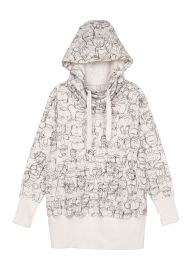 Hoodie tunic at Melissa McCarthy