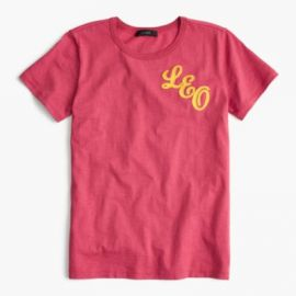 Horoscope T-shirt in  Leo at J. Crew