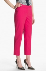 Hot pink cropped pants at Nordstrom at Nordstrom