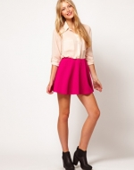 Hot pink skirt from ASOS at Asos