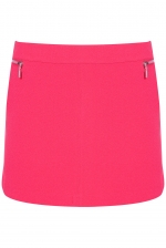 Hot pink skirt from Topshop at Topshop