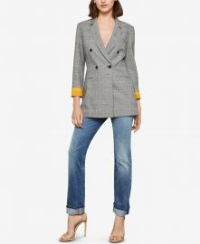 Houndstooth Double Breasted Blazer at Macys