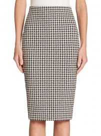 Houndstooth Pencil Skirt at Saks Off 5th