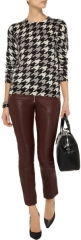 Houndstooth Shane Sweater by Equipment at The Outnet