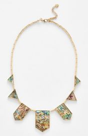 House of Harlow 1960 Abalone Station Necklace at Nordstrom