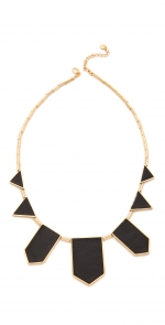 House of Harlow Leather Station Necklace at Shopbop