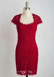 How Does Sheath Do It Dress in Ruby at ModCloth