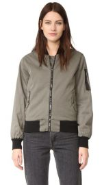 Hudson Gene Bomber Jacket at Shopbop