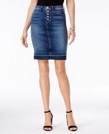 Hudson Jeans Remi Denim Pencil Skirt at Macys