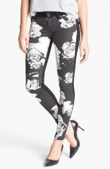 Hudson Jeans and39Collinand39 Floral Pattern Skinny Jeans at Nordstrom