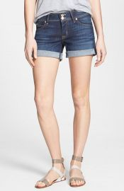 Hudson Jeans and39Croxleyand39 Cuff Denim Shorts at Nordstrom