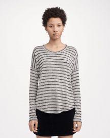 Hudson Long-Sleeve Striped at Rag & Bone