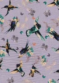 Hummingbird fabric at Stone Fabrics