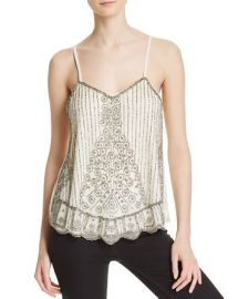 Hydepark Embroidered Strappy Tank - Compare at  110 at Bloomingdales