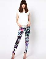 Hydrangea Super Skinny Jeans by J Brand at Asos
