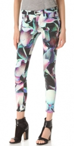 Hydrangea print jeans by J Brand at Shopbop at Shopbop