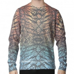 Hype ombre snake sweater at The Menswear Site