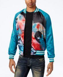 Hypnotize Biggie Graffiti Bomber Jacket  at Macys