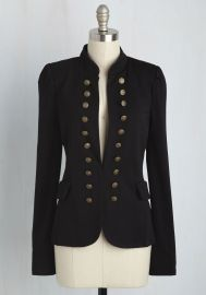 I Glam Hardly Believe It Blazer in Black at ModCloth