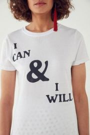 I can and I will t-shirt by Urban Outfitters at Urban Outfitters