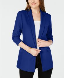 INC International Concepts I N C  3 4-Sleeve Blazer  Created for Macy s Women - Macy s at Macys