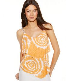 INC International Concepts Embellished Tie-Dye Tank Top at Macys