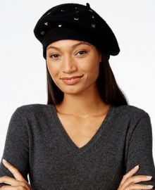 INC International Concepts Mixed Metallic Beret  Only at Macy s at Macys