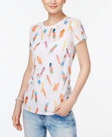 INC International Concepts Popsicle Print T-Shirt at Macys
