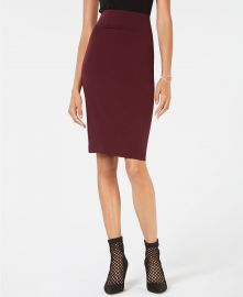 INC Ponte Pencil Skirt at Macys