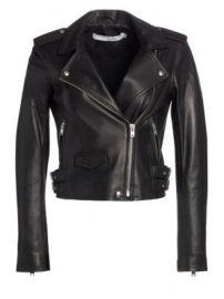 IRO - Ashville Leather Moto Jacket at Saks Fifth Avenue